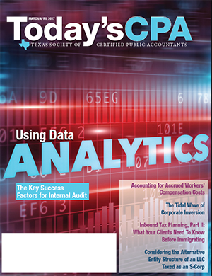 Today's CPA March April 2017 Cover