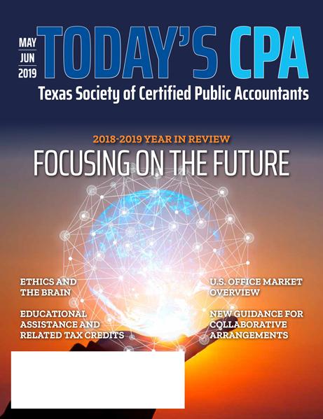 Todays CPA May June 2019 | TXCPA