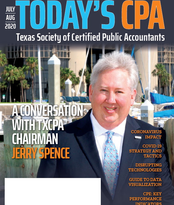 July Aug 2020 Today's CPA magazine cover