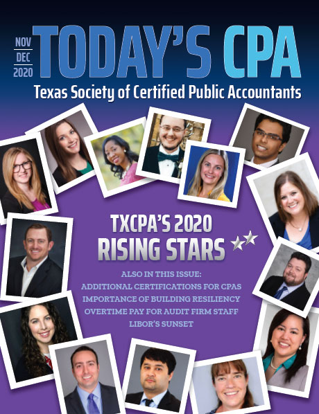 Nov Dec 2020 Today's CPA Cover