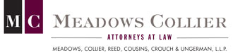 Meadows Collier, Conference Sponsor