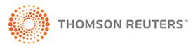 Thompson Reuters - Premier sponsor