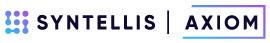 Syntellis Axiom - Gold sponsor