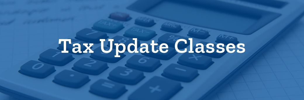 TAX-Update-Classes